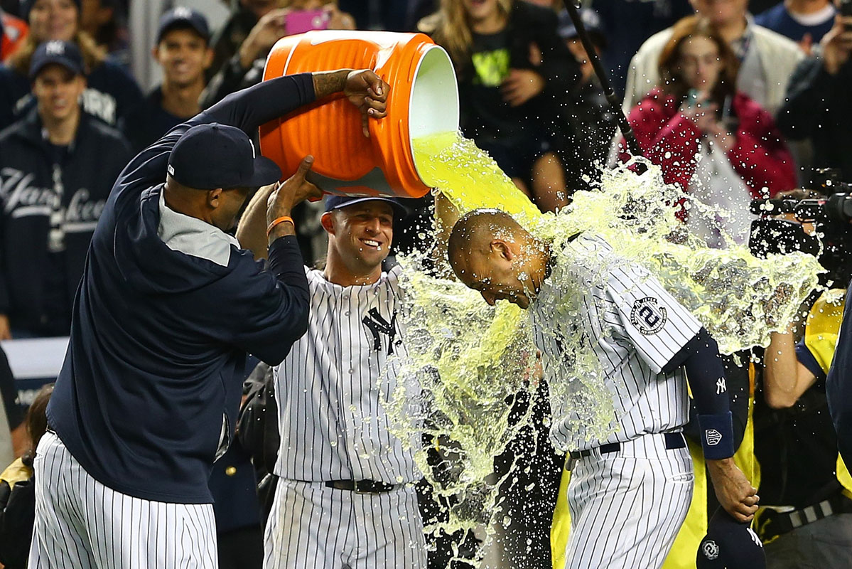 Derek Jeter's last game at Yankee Stadium
