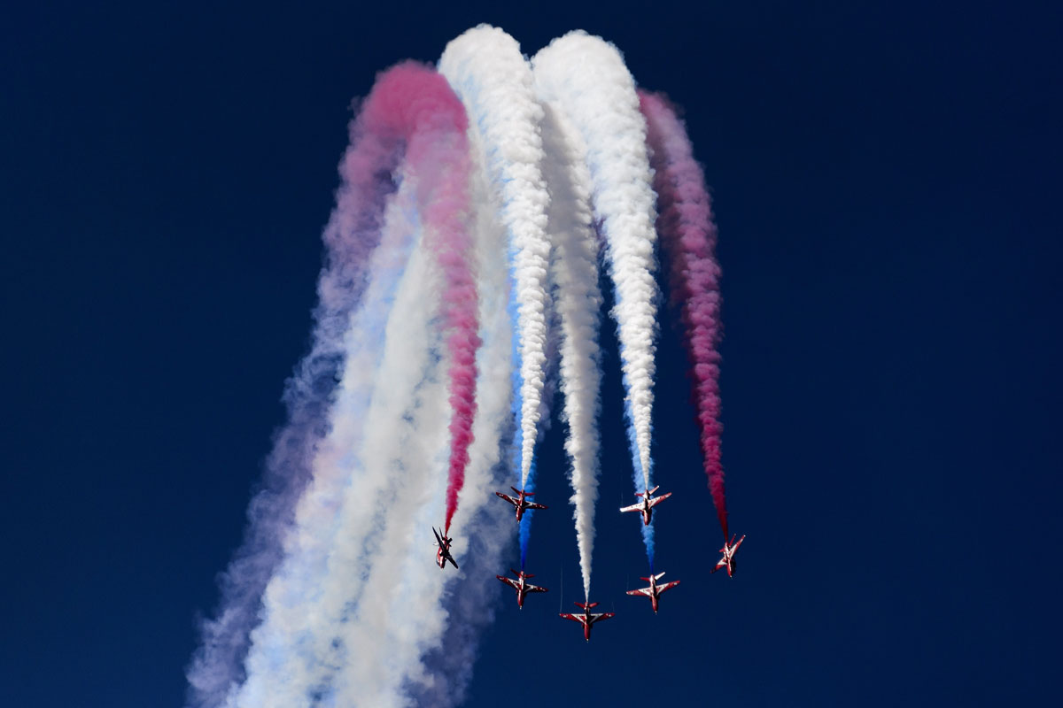 AIR14 air show commemorates Swiss Air Forces