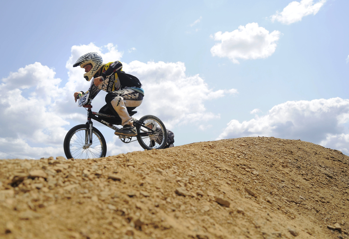 BMX bicycle racing, a family affair