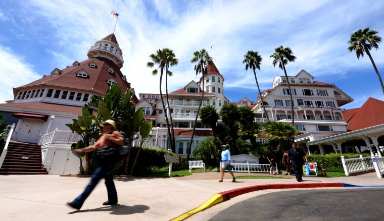 The Hotel del Coronado is a resort sport on the island, and is the second-largest wooden structure in the U.S. The hotel was also the set for part of the 1959 Marilyn Monroe film 'Some Like it Hot.'