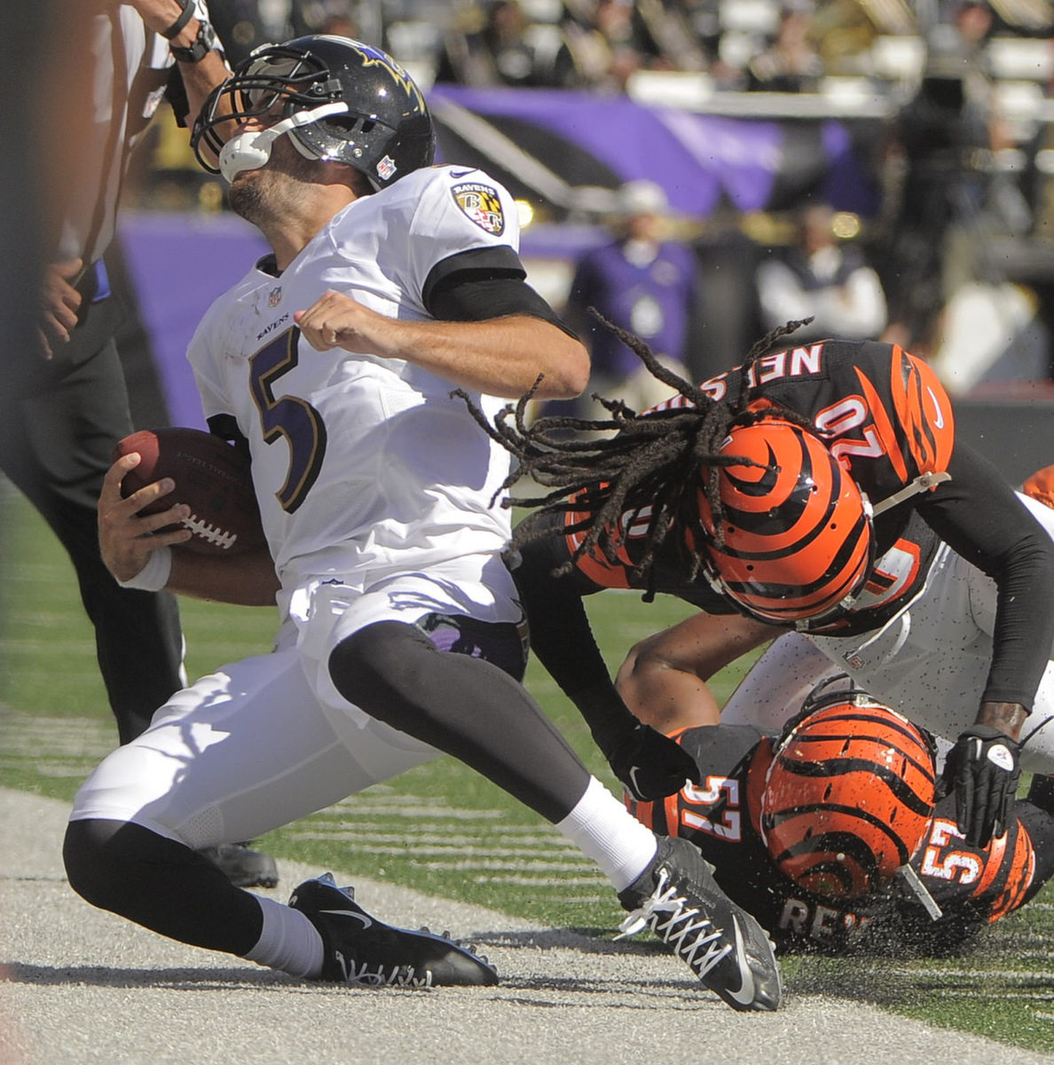 Rough Cut: Baltimore Ravens lose season opener to the Cincinnati Bengals 16-23