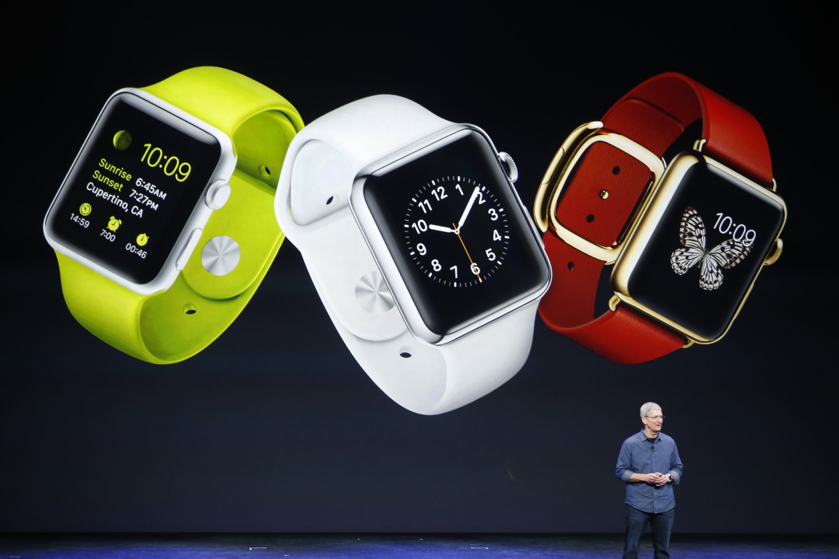 Apple unveils new Apple Watch, iPhone 6