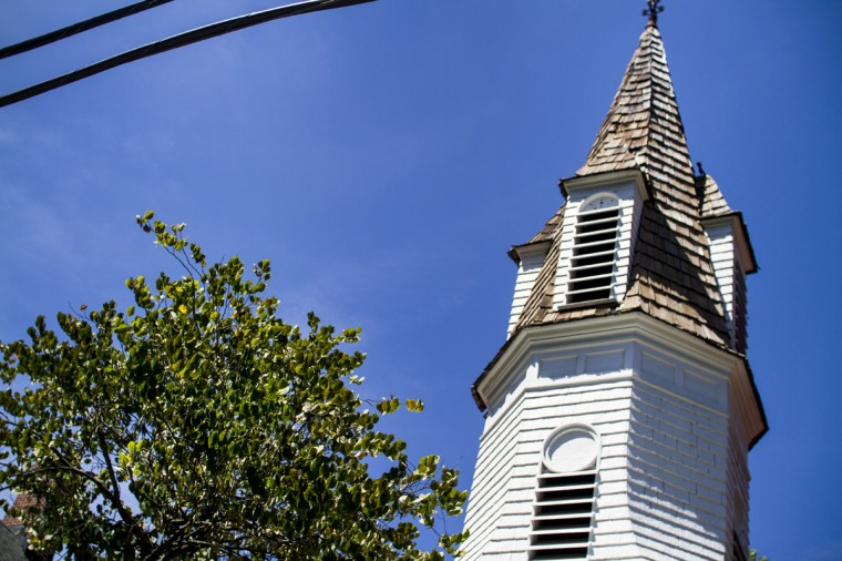August 2014: Dickey Memorial Presbyterian Church, established in the late 1800s. It sits along Wetheredsville Rd. (Kalani Gordon/Baltimore Sun)