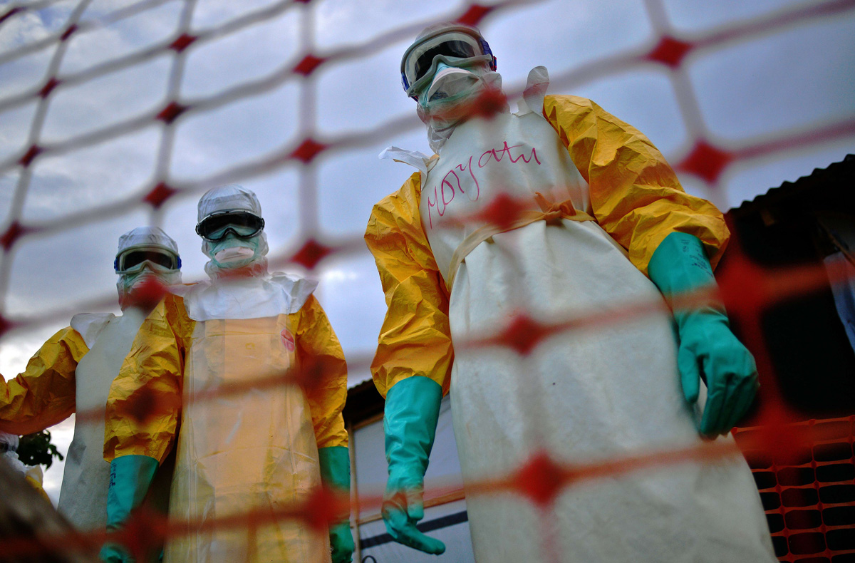 Fighting Ebola: On the front lines