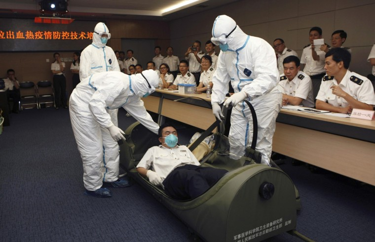 Fighting ebola on the front lines for Bureau quarantine