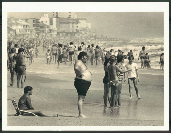 Warm weather drew a big Labor Day crowd to Ocean City on Sept. 7, 1981. (Weyman Swagger/Baltimore Sun)