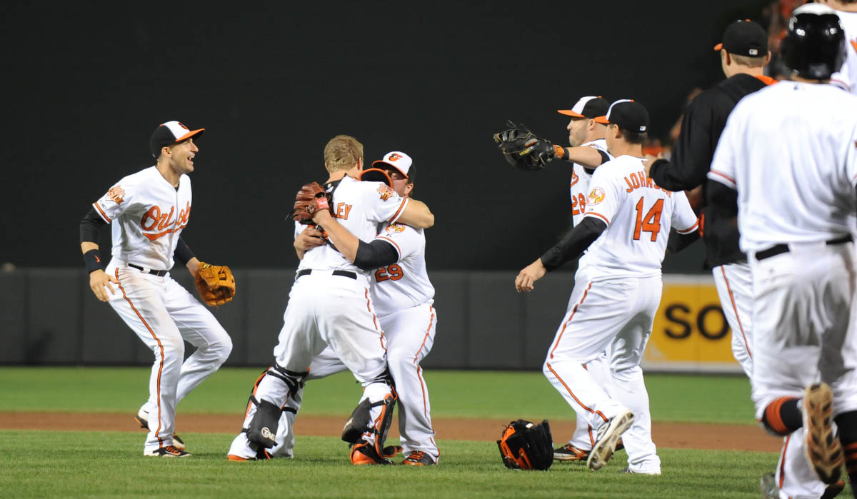 Rough Cut: Orioles clinch the American League East title
