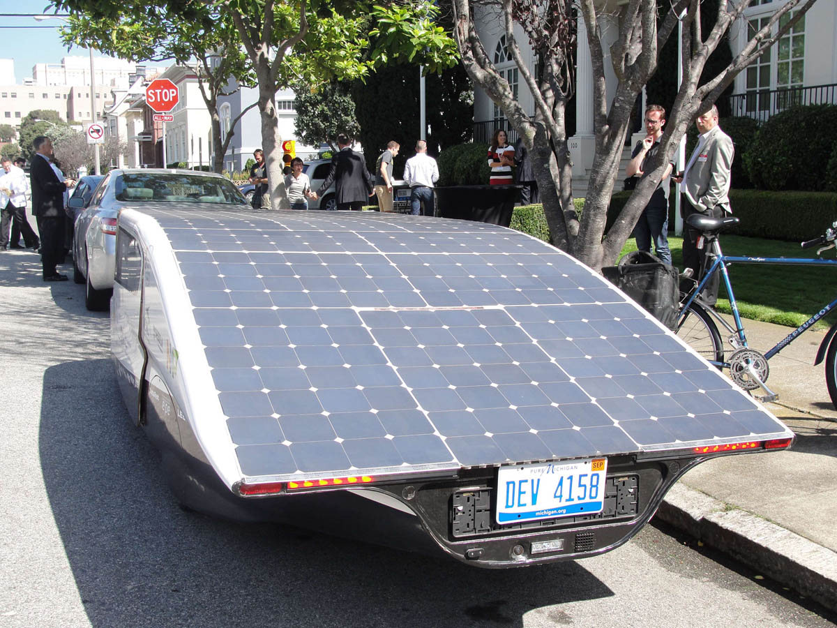 Driving A Solar Powered Family Car