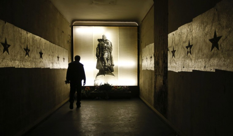 A security guard walks inside a building at the former headquarters of the Soviet army in Wuensdorf, south of Berlin, September 2, 2014. Twenty years ago the last Soviet soldier left Germany after one of the biggest peacetime military manoeuvres in history, a triumph of organisation that ended the Soviet's almost 50-year Cold War presence in the former East Germany. (Fabrizio Bensch/Reuters)