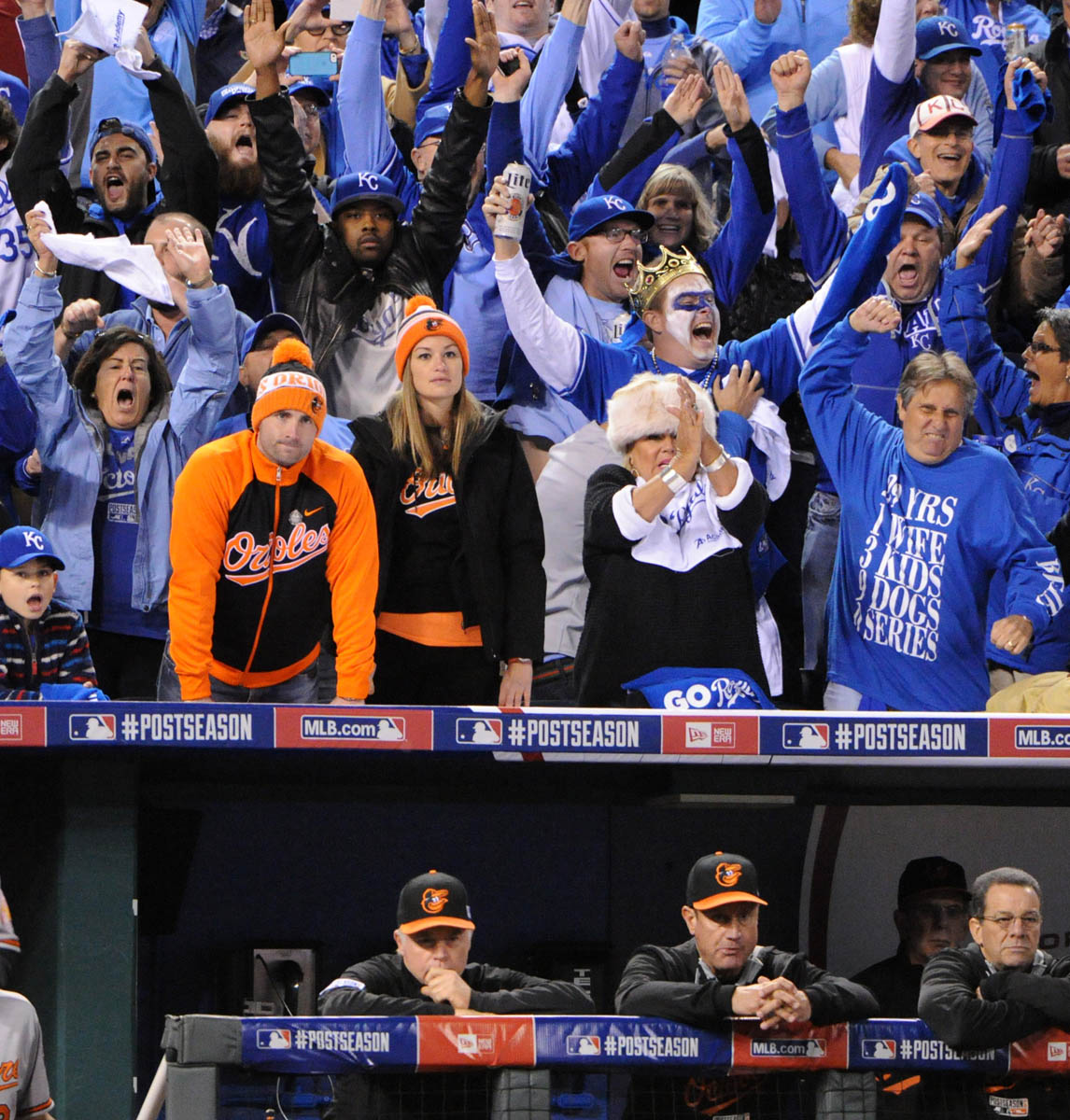 Rough Cut: Kansas City Royals defeat Baltimore Orioles in ALCS game 3