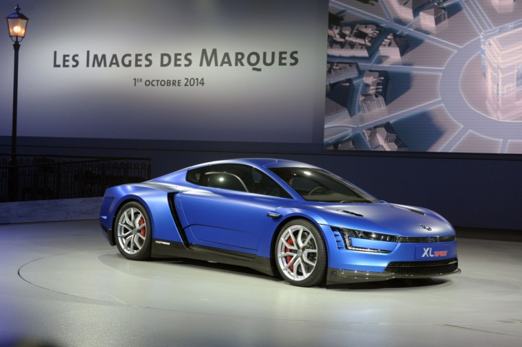 A concept Car XL Sport is presented at the Volkswagen Group Night show in Paris prior to the opening on October 2nd of the Paris Auto show 2014 Press days. Eric Piermont/AFP/Getty Images
