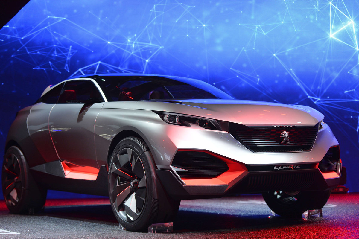 Day two of Paris Auto Show features new concept cars
