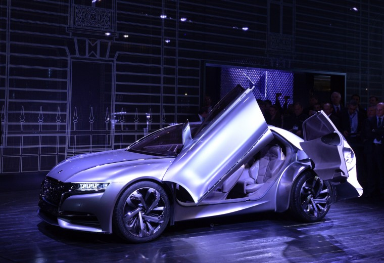 The new Citroen Concept Car Divine DS is presented at the 2014 Paris Auto Show on October 2, 2014 in Paris on the first of the two press days. Miguel Medina/AFP/Getty Images