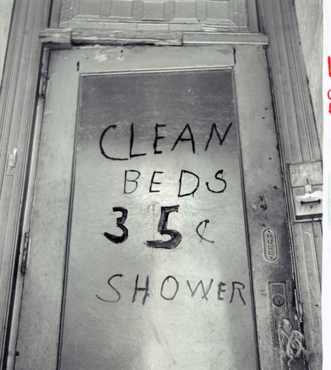 Sign on the door in the Block on E. Baltimore St. (William K. Klender/Baltimore Sun/Oct 8, 1961)