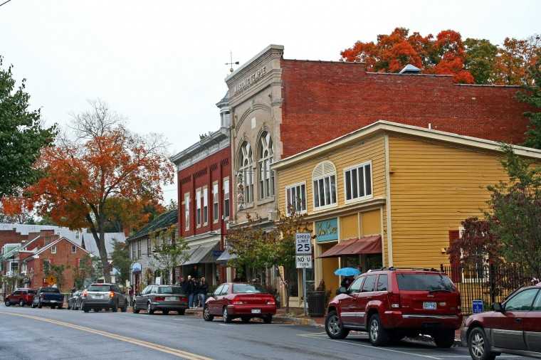 Shepherdstown. West Virginia in the fall. (Photo: West Virginia Division of Tourism)