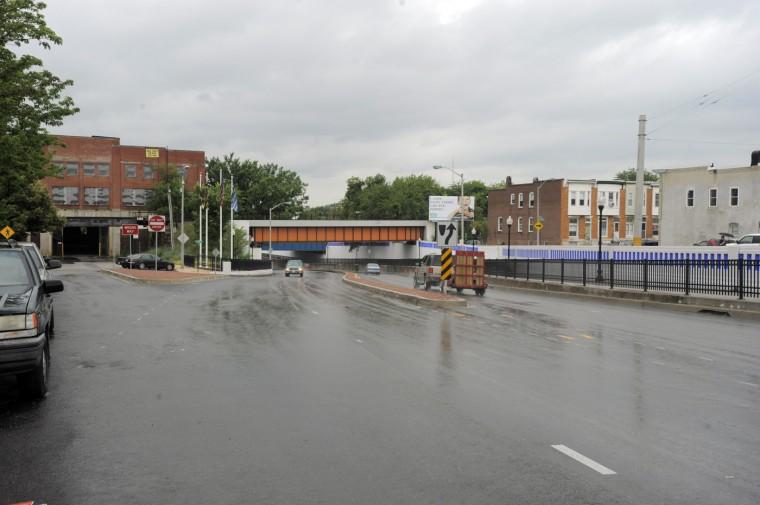 06/17/09: Eastern Av at Macon Street looking west from Greektown Wednesday, June 17, 2009. (Baltimore Sun Staff/Karl Merton Ferron)