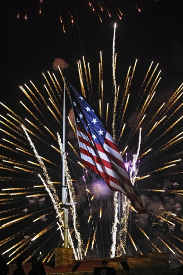 The Star Spangled Spectacular Concerts and firework show at Fort McHenry celebrated the 200th Anniversary of the National Anthem penned by Francis Scott Key in September 2014. (Kenneth K. Lam/Baltimore Sun)