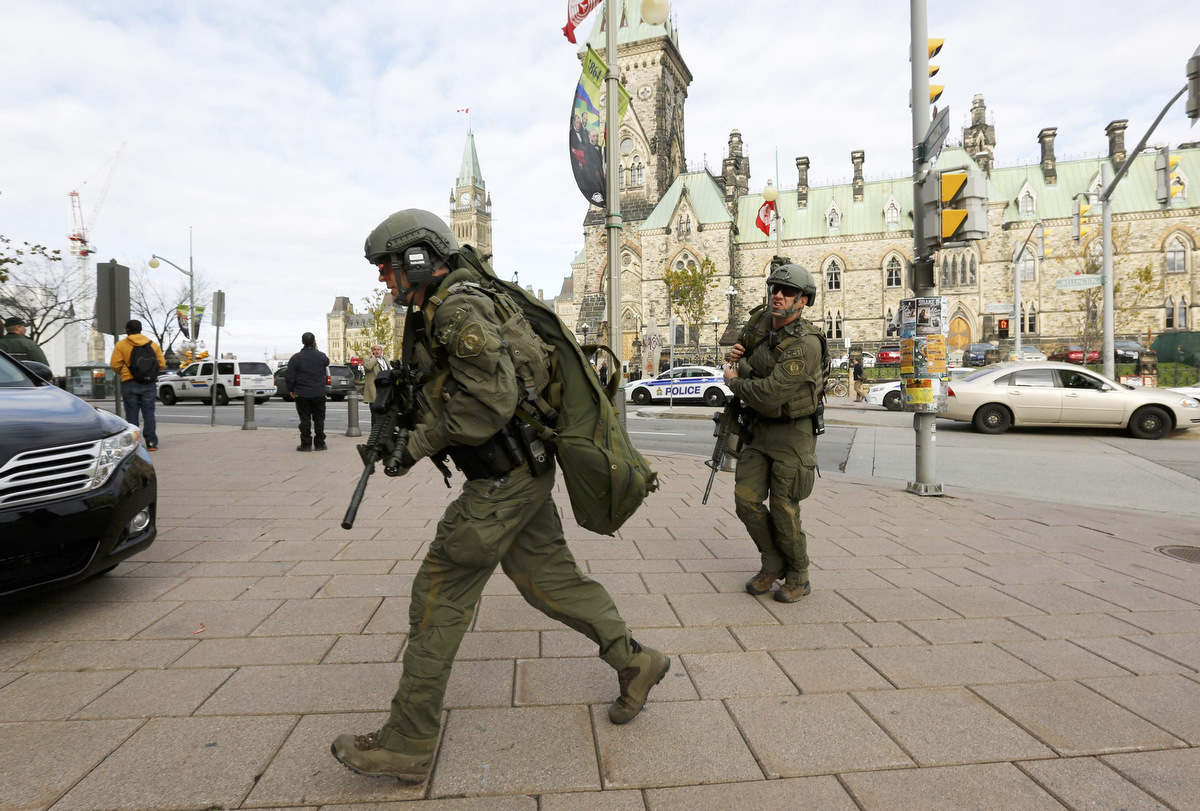 Multiple shootings reported in Ottawa, Canada near Parliament