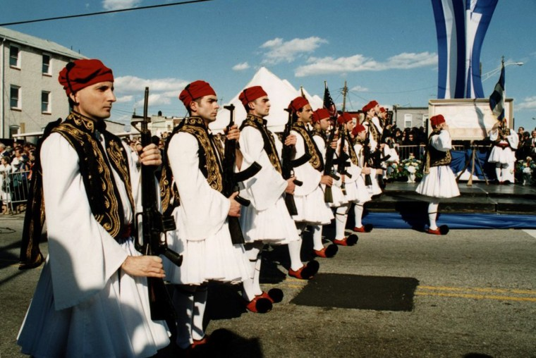 "Greek Independence Day parade- Sunday , March 25 in ""Greektown.""(handout scanned 3/17/01)"
