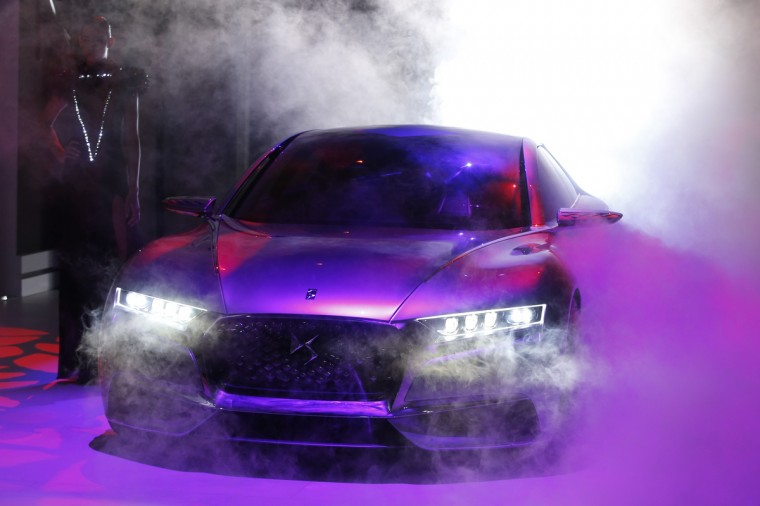 The Divine DS concept car is displayed on media day at the Paris Mondial de l'Automobile, October 2, 2014. The Paris auto show opens its doors to the public from October 4 to October 19. Benoit Tessier/Reuters photo