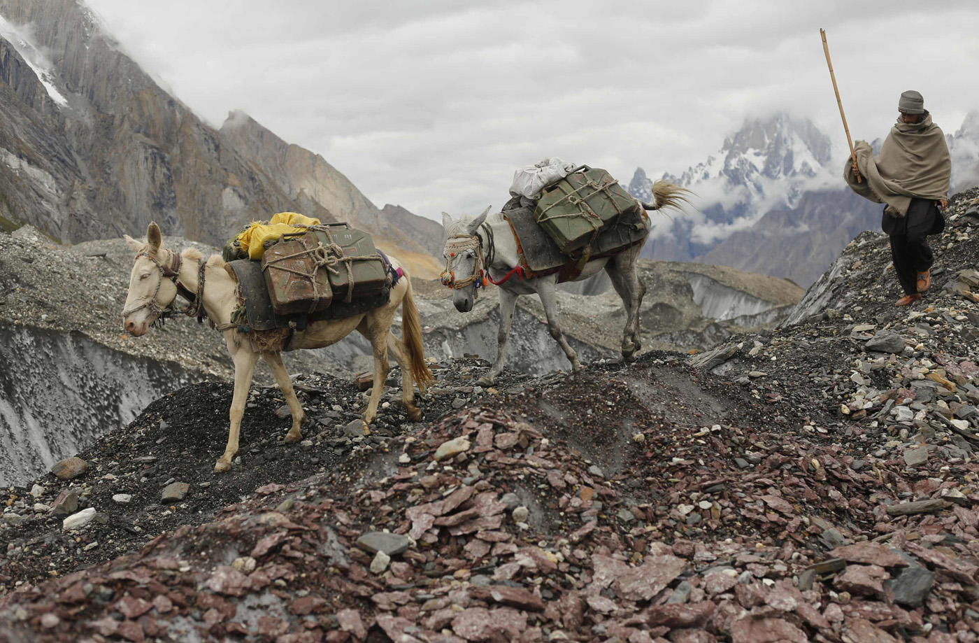 Hiking the trails on Northern Pakistan's second tallest mountain
