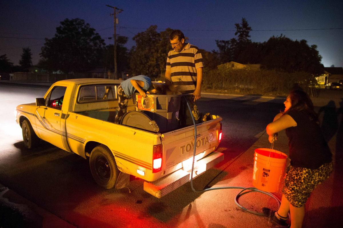 Water supplies run dry in California
