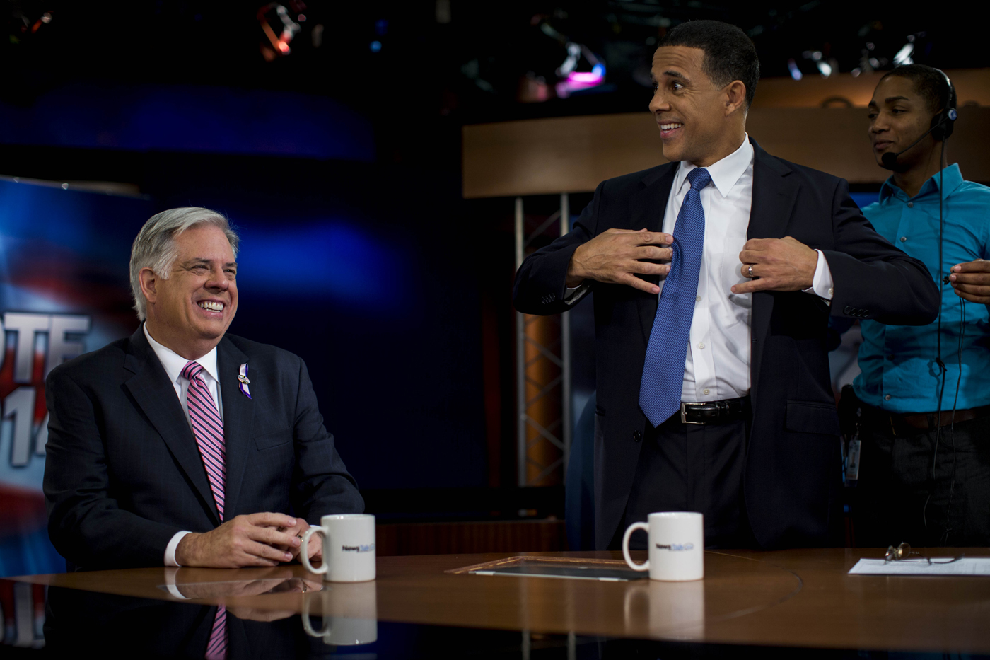 On the stump: Anthony Brown and Larry Hogan's race for Maryland governor