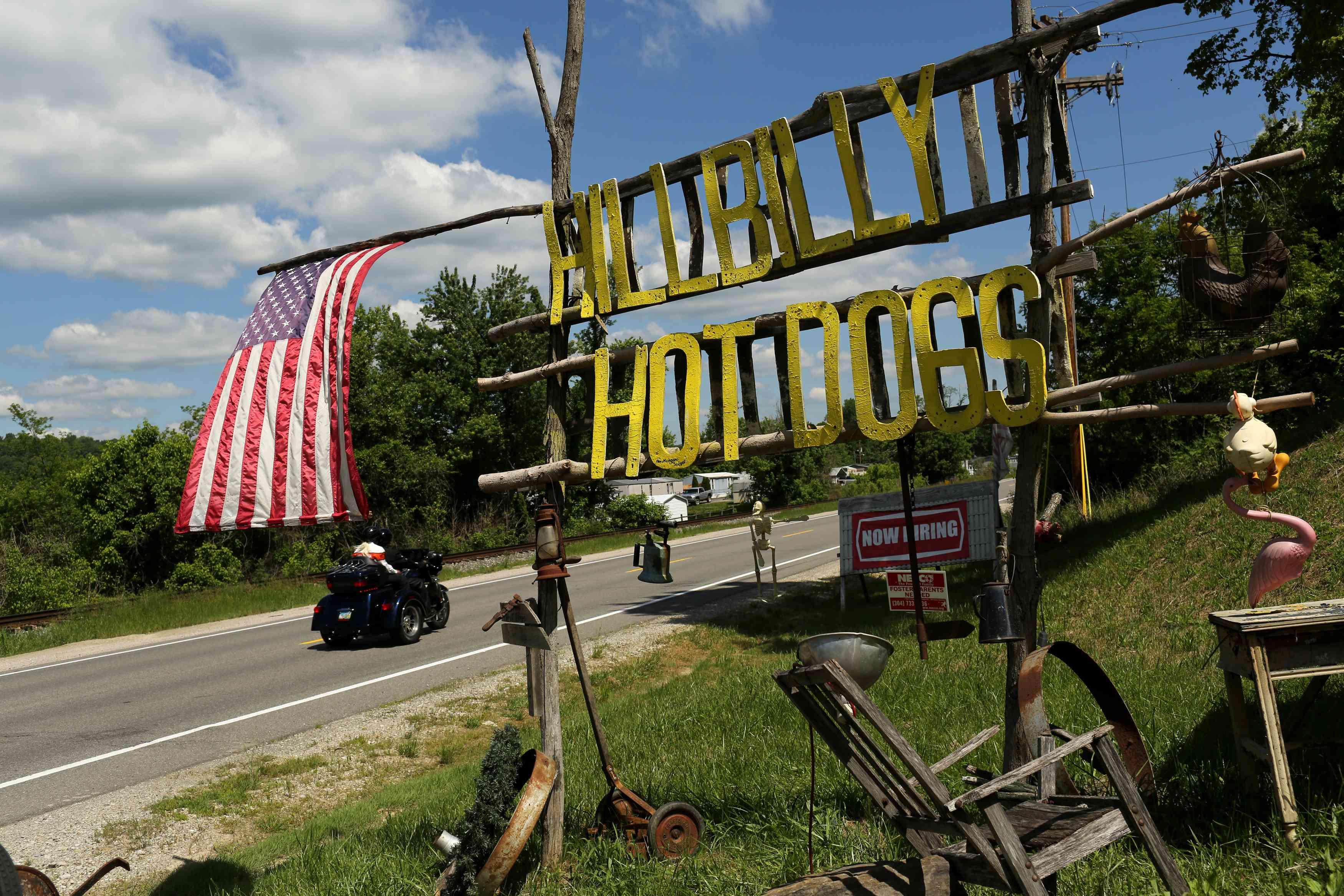 Decline along West Virginia's King Coal Highway