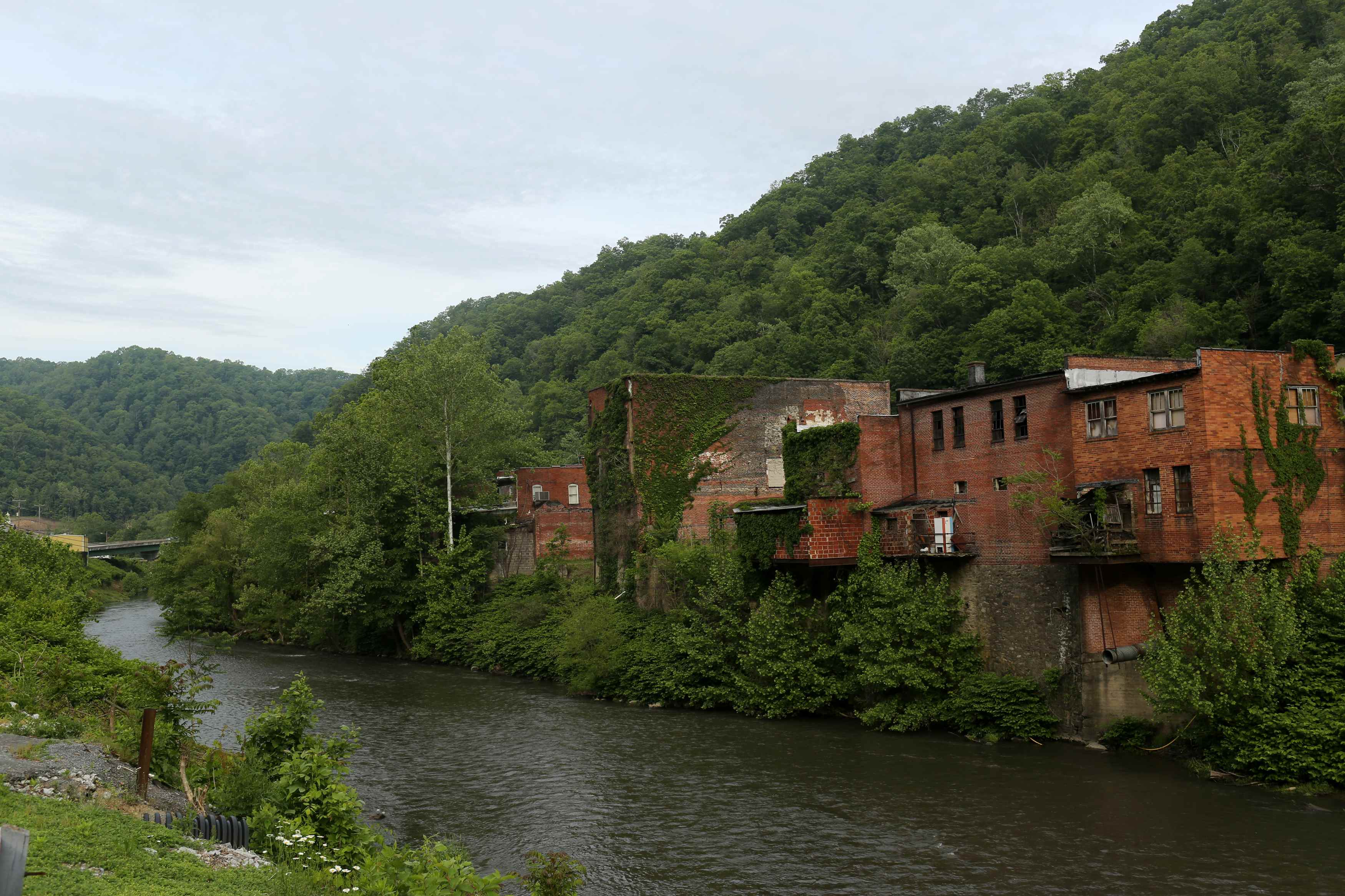 Decline along West Virginia's King Coal Highway