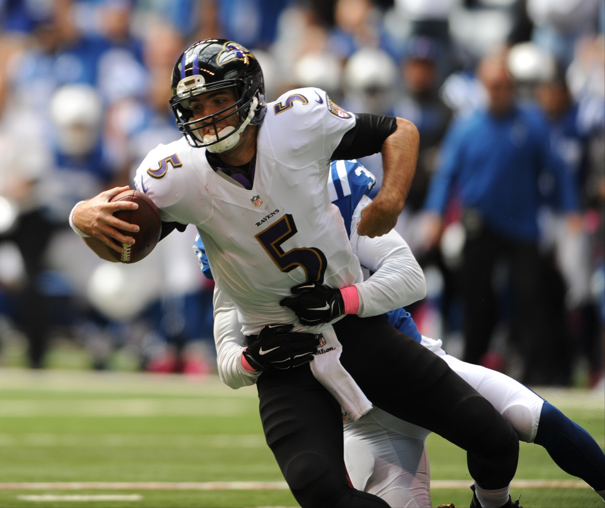 Rough Cut: Baltimore Ravens fall to Indianapolis Colts 20-13