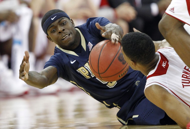 Name: Durand Johnson College: Pittsburgh Position: Forward Year: Redshirt junior High school: Lake Clifton Hometown: Baltimore 2013-14 stats: 8.8 points, 3.0 rebounds Johnson was carving out a niche for himself as the Panthers' sixth man, bringing instant offense off the bench. In Pitt's 16th game, however, Johnson tore his ACL and was gone for the year. He's been hobbled a bit this preseason by a sprained ankle, but Johnson scored 19 in the Panthers' exhibition win over Philadelphia University on Friday, and seems well on his way to challenge for top scoring honors on a Pitt team picked to finish sixth out of 15 in the ACC. (Ellen Ozier-USA TODAY Sports)