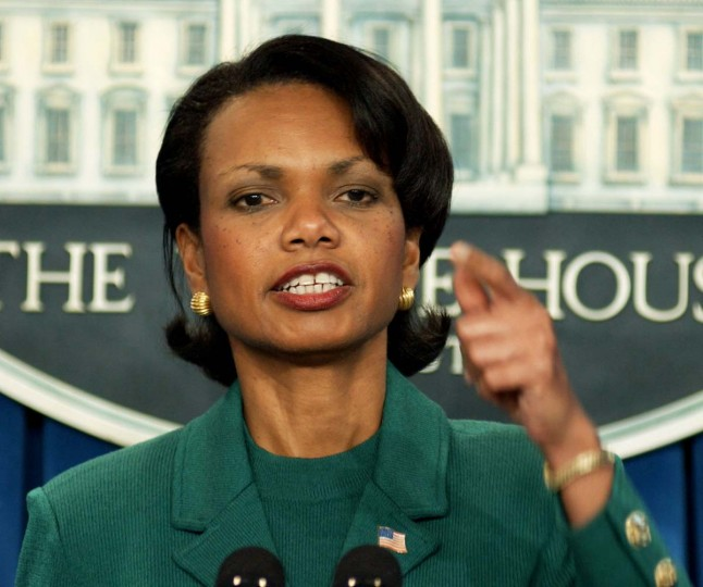 WASHINGTON:  Condoleezza Rice, who was at that time the president's national security advisor, learned of the mistaken detainment from then-CIA Director George Tenet and argued that the German government must be told of the events, according to the 2005 Post article. PHOTO CREDIT: MANNIE GARCIA - REUTERS