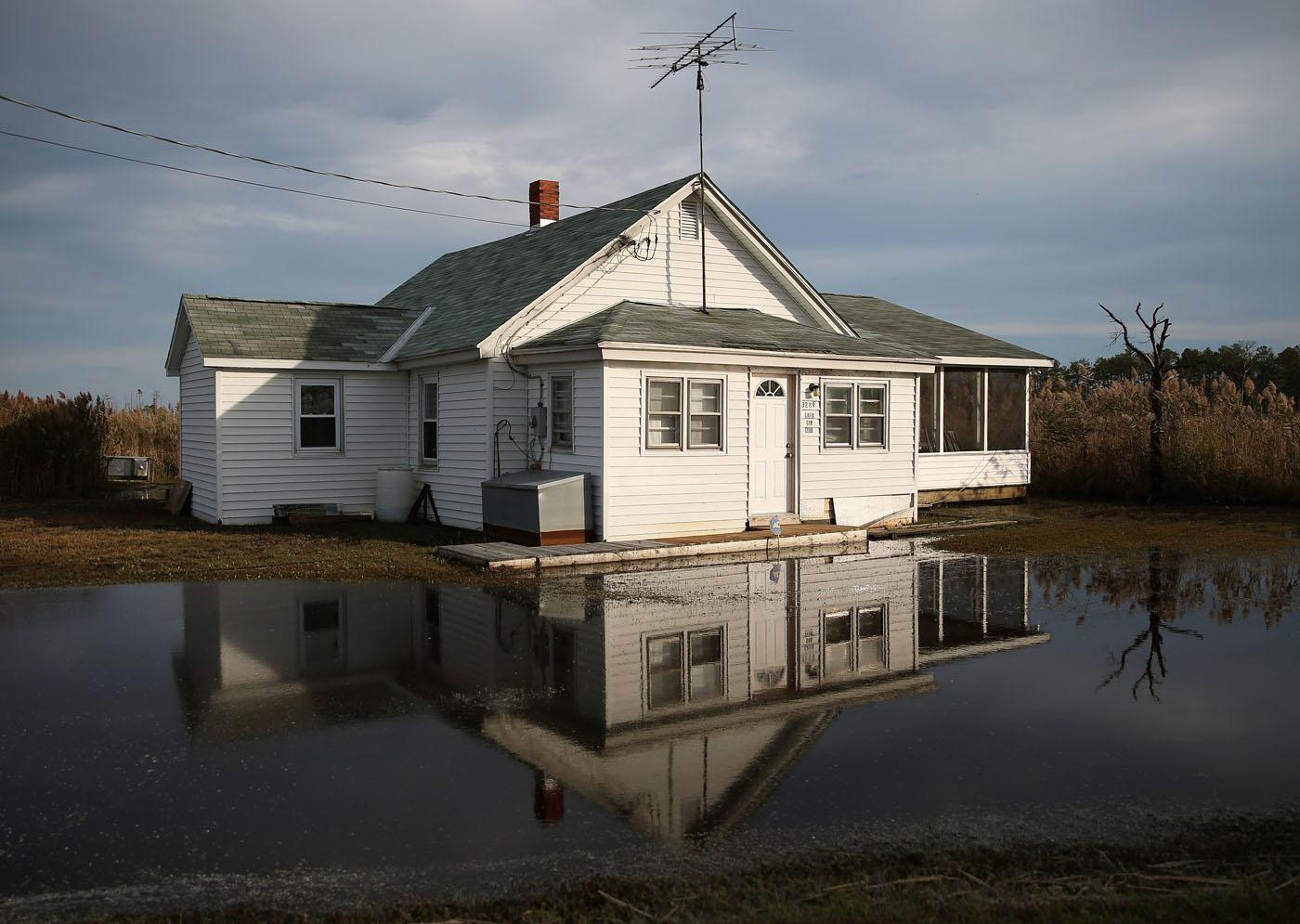 Rising sea level, coastal flooding spells disaster for coastal Maryland towns