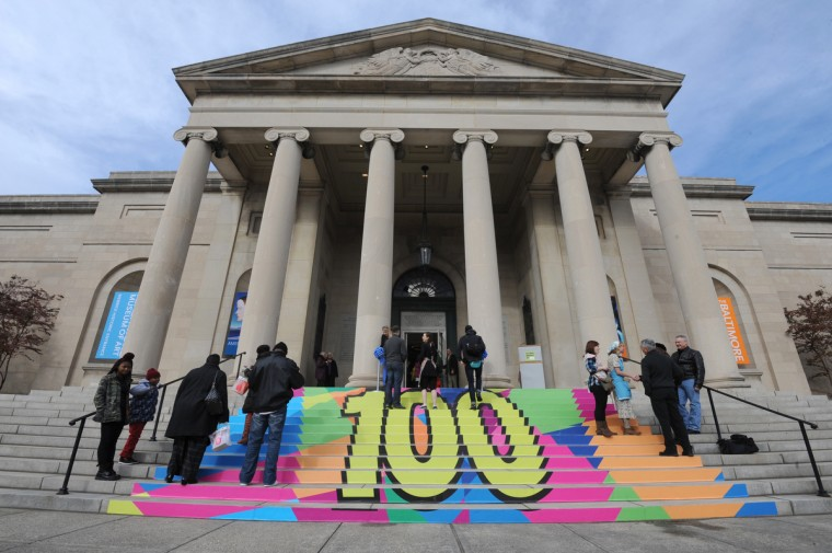 The American Wing of the Baltimore Museum of Art reopens as part of the museum's 100th Anniversary Celebration.  The American Wing of the Baltimore Museum of Art reopens as part of the museum's 100th Anniversary Celebration.  (Algerina Perna/Baltimore Sun)
