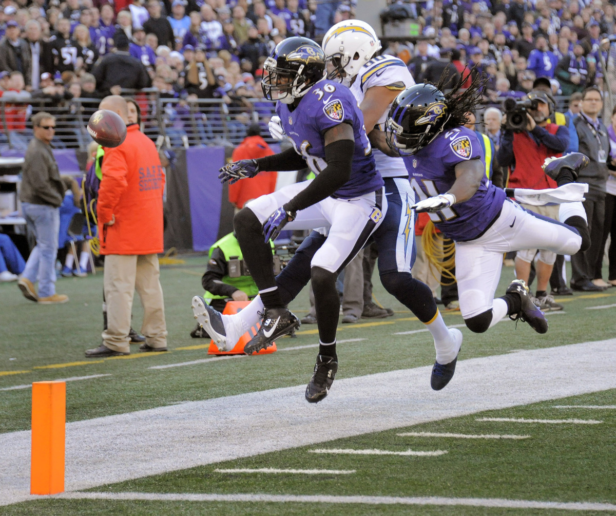 San Diego Chargers Baltimore Ravens