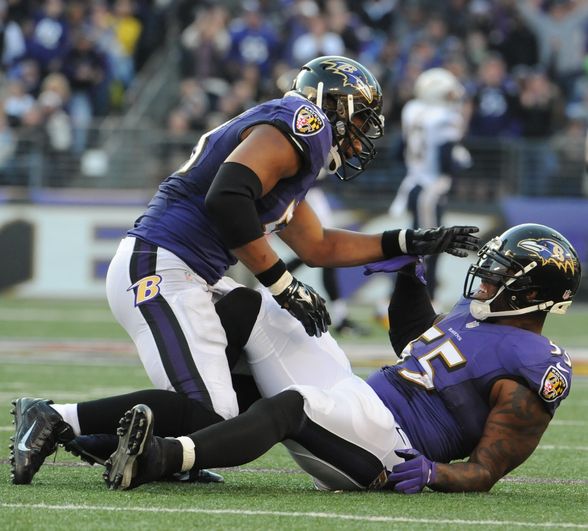 San Diego Chargers Cuts: Ravens, Chargers