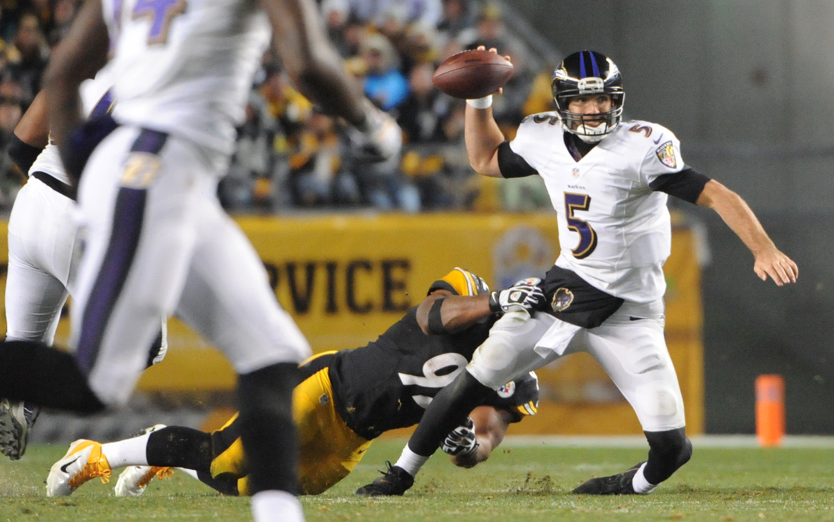 Rough Cut: Baltimore Ravens are stomped by the Pittsburgh Steelers 43-23