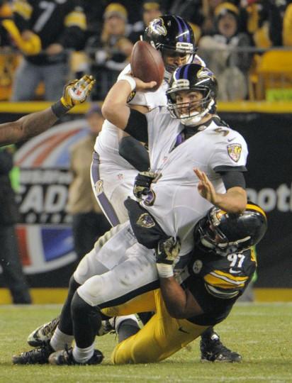 Rough Cut Ravens Steelers