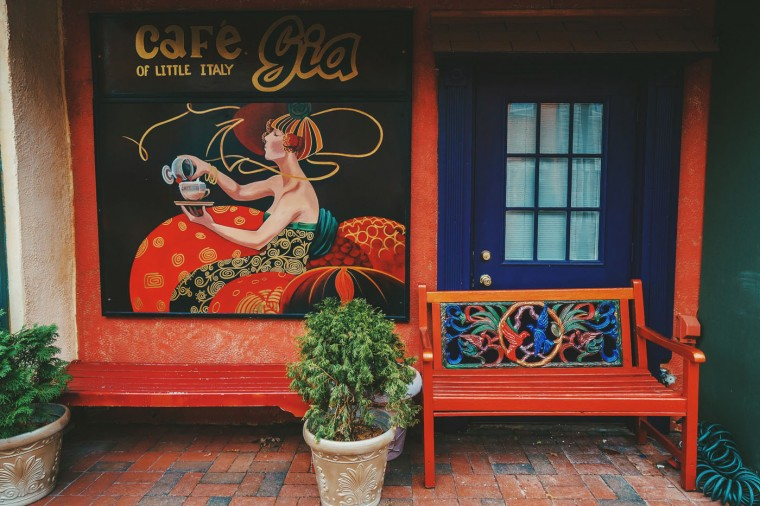Cafe Gia- Little Italy, Baltimore, MDCafe Gia- Little Italy, Baltimore, MD