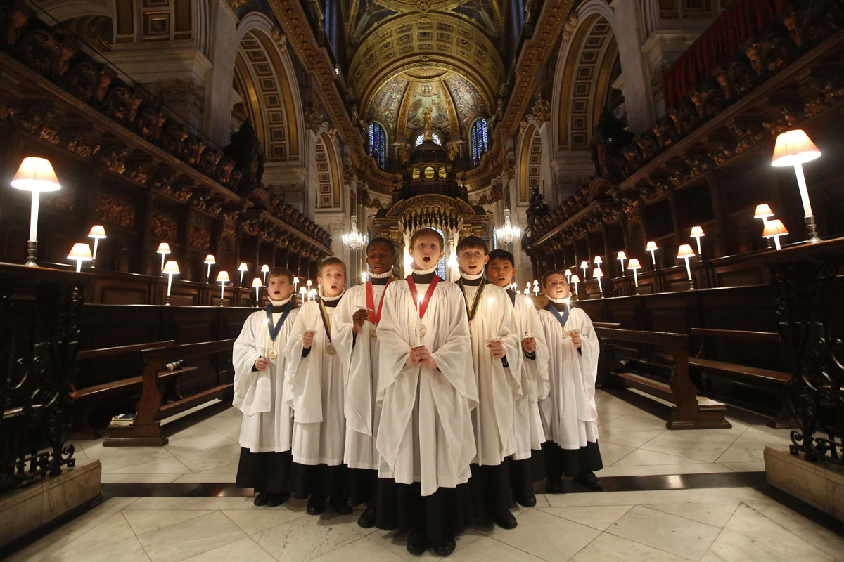 Winter solstice, Christmas carols at St. Paul's Cathedral and Kapulica & Lanterns event | Dec. 22