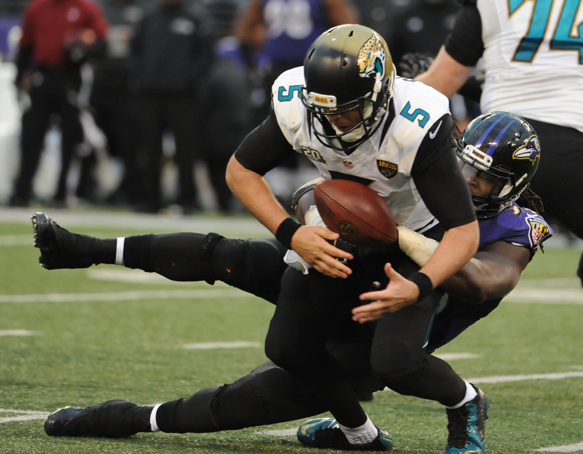 Rough Cut:  Ravens 20, Jaguars 12