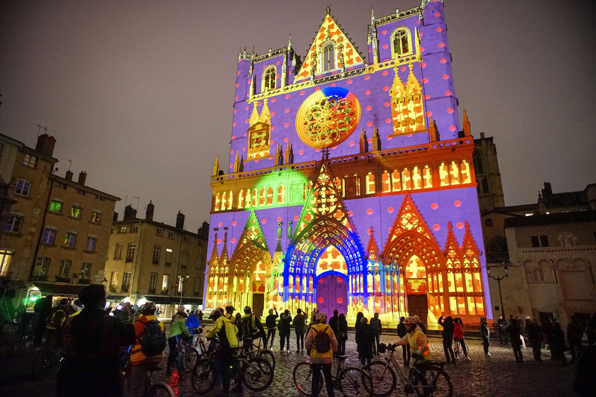 & The Festival of Lights in Lyon France