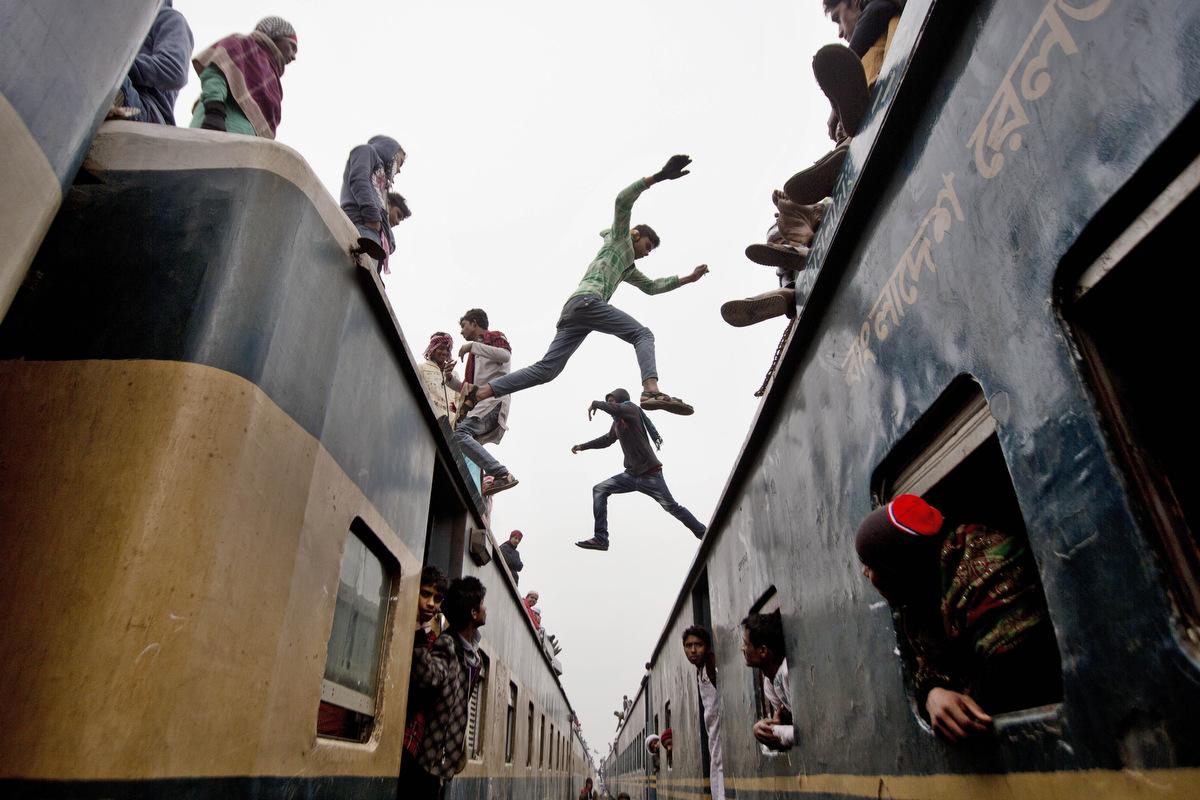 railroad muslim This blood-thirsty muslim  retaliated massively against the muslims who had roasted alive 58 hindu pilgrims in a railroad coach near godhra railroad.