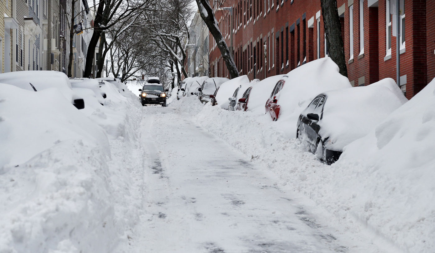 Here S How Much Snowy Weather The Northeast Saw
