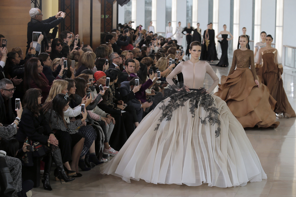 Paris Fashion Week 2015 – Spring-Summer Haute Couture