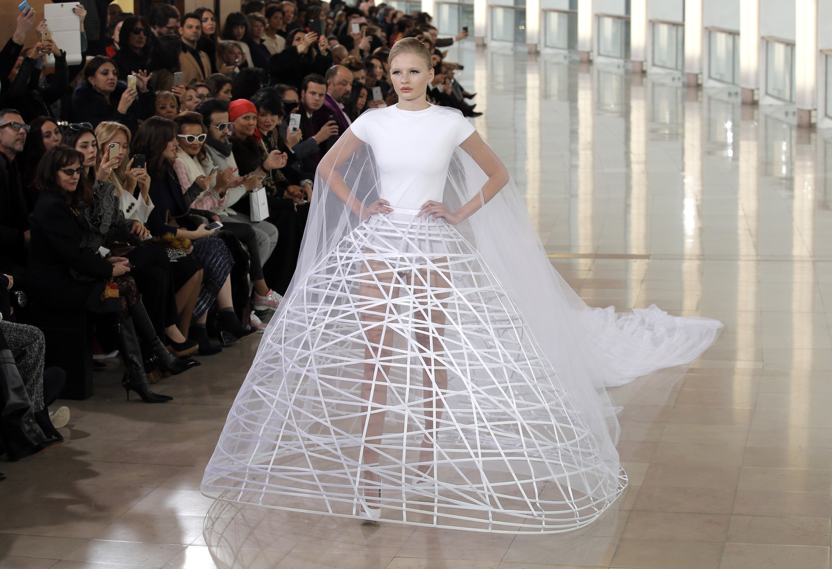 Paris fashion week 2015 spring summer haute couture for Hout couture