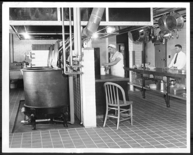 Crownsville State Hospital's kitchen in 1937.