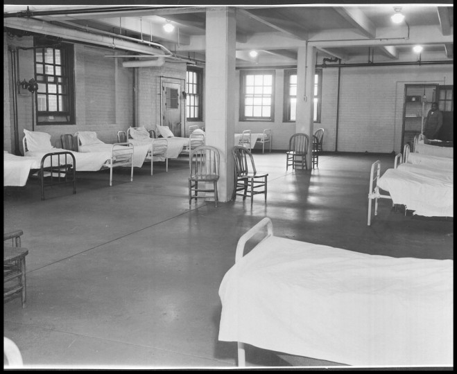 Crownsville state hospital, March 28, 1952