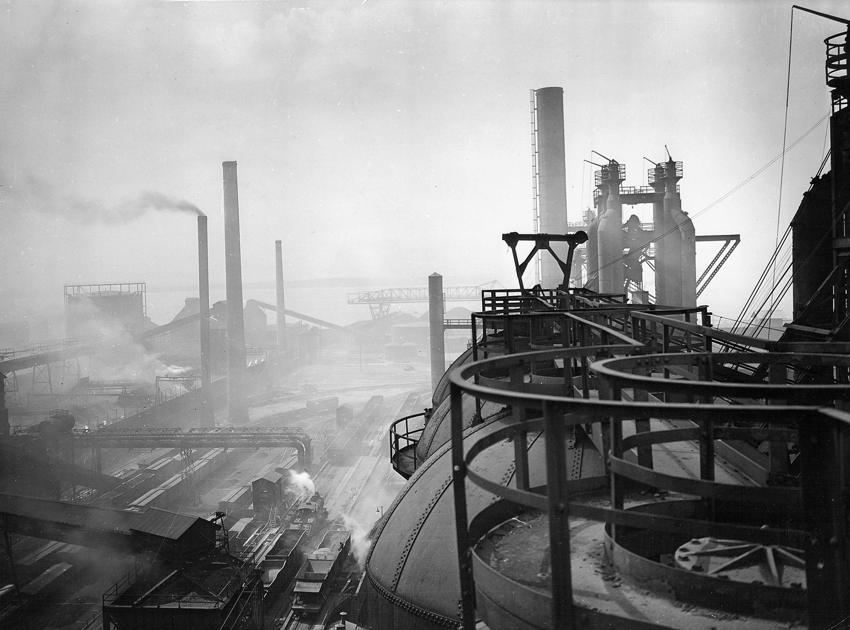 Photo retrospective of Bethlehem Steel, Sparrows Point
