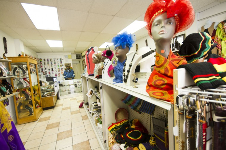 Dec. 2014: Afro Fashion & Art, on Pigtown's Main Street. Kalani Gordon/Baltimore Sun